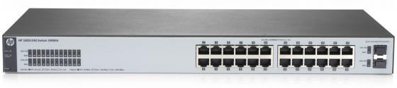 Коммутатор HP 1820-24G управляемый 24 порта 10/100/1000Mbps 2xSFP J9980A набор столовых приборов hello kitty