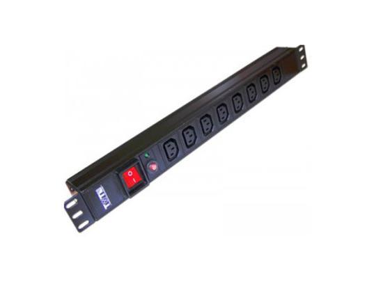 Блок розеток Lanmaster TWT-PDU19-10A8C13 цена и фото