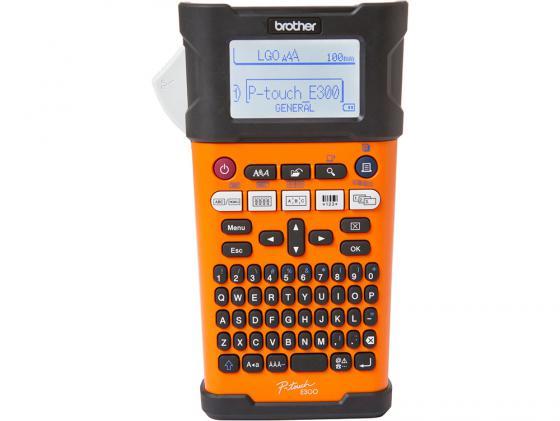 Фото - Принтер для печати наклеек Brother P-touch PT-E300VP лента ламинирования brother tz221 9мм для p touch черный на белом