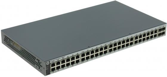 Коммутатор HP 1820-48G управляемый 48 портов 10/100/1000Mbps 4xSFP J9981A коммутатор hp jl386a управляемый 48 портов 10 100 1000mbps jl386a