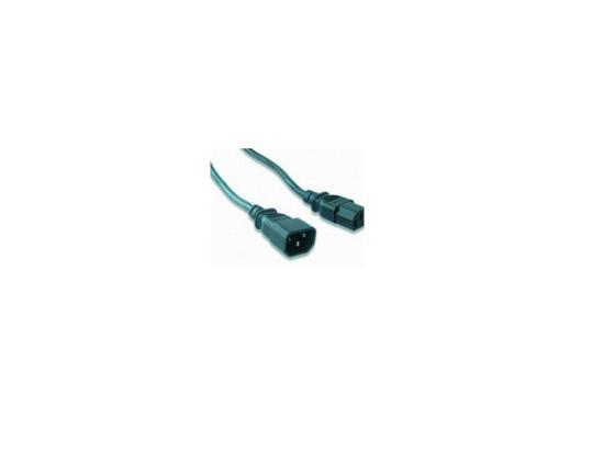 Кабель питания монитор - системный блок 1.8м Gembird PC-189 кабель питания монитор системный блок 1 8м gembird pc 189
