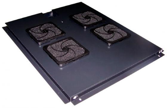 Блок 4-х вентиляторов Lanmaster TWT-CBB-FANB4-8 в крышу шкафа Business глубиной 800мм с подшипниками