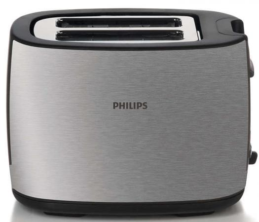 лучшая цена Тостер Philips HD2658/20 серебристый