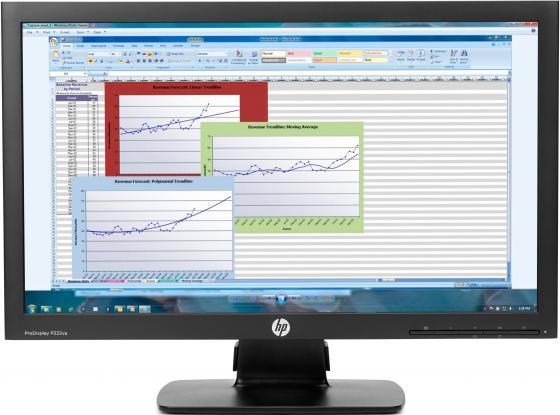 "Монитор 21.5"" HP ProDisplay P222va черный VA 1920x1080 250 cd/m^2 8 ms VGA DisplayPort K7X30AA hp p222va черный"