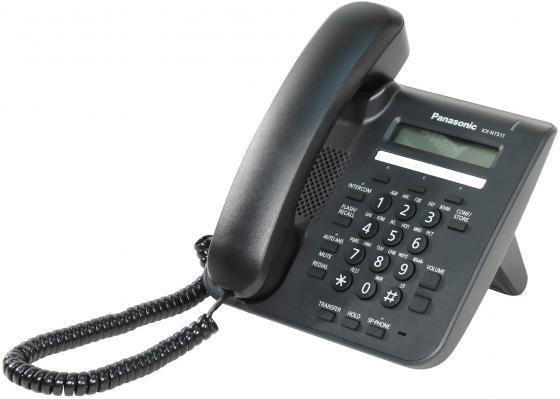 Телефон IP Panasonic KX-NT511PRUB черный телефон ip panasonic kx nt511prub черный