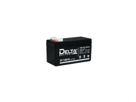 Батарея Delta DT 12012 1.2Ач 12B delta battery dt 1207 12v 7ah