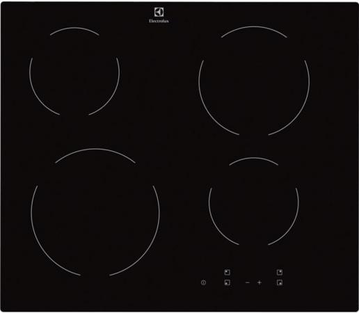 Варочная панель электрическая Electrolux EHV56240AK черный  electrolux ehf6547fok электрическая варочная панель