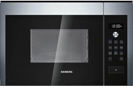 Встраиваемая микроволновая печь Siemens HF15M564 800 Вт серебристый встраиваемая микроволновая печь siemens bf634lgs1