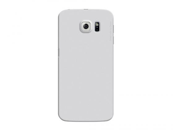 Чехол Deppa Air Case  для Samsung Galaxy S6 edge серебристый 83183 deppa для samsung galaxy s6 edge глянцевая
