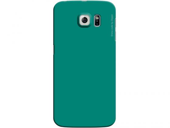 Чехол Deppa Air Case  для Samsung Galaxy S6 edge зеленый 83186 deppa для samsung galaxy s6 edge глянцевая