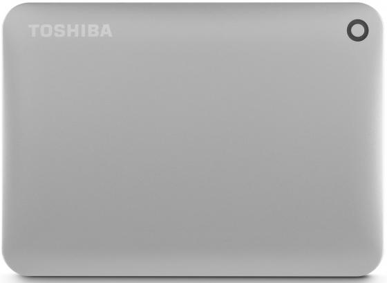 Внешний жесткий диск 2.5 USB3.0 1Tb Toshiba Canvio Connect II HDTC810EC3AA серебристый внешний жесткий диск 2 5 usb3 0 500gb toshiba canvio connect ii hdtc805ew3aa белый