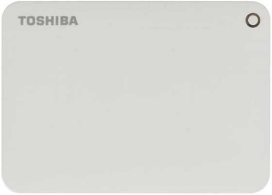 Внешний жесткий диск 2.5 USB3.0 2Tb Toshiba Canvio Connect II HDTC820EW3CA белый внешний жесткий диск toshiba 2tb canvio connect ii hdtc820ew3ca