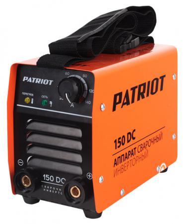 цена на Аппарат сварочный Patriot 150DC MMA 10/140А инверторный
