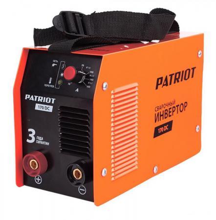 цена на Аппарат сварочный Patriot 170DC MMA 10/160A инверторный