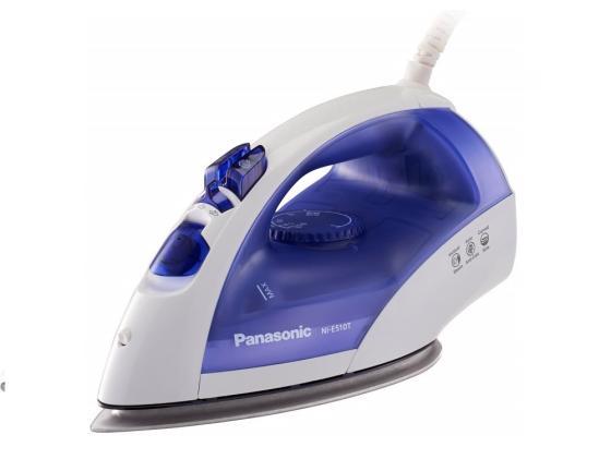 Утюг Panasonic NI-E510TDTW 2380Вт бело-синий утюг panasonic ni w900cmtw бело голубой