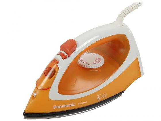 Утюг Panasonic NI-P200TTTW 1550Вт бело-оранжевый утюг panasonic ni w900cmtw бело голубой