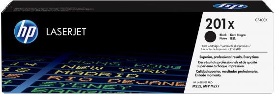 Картридж HP CF400X 201x для LaserJet Pro M252dw черный 2800стр hp color laserjet pro m252dw b4a22a