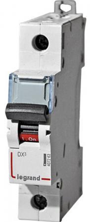 Автоматический выключатель Legrand DX3 6000 10кА тип C 1П 10А 407668 автоматический выключатель legrand dx3 6ka 10ка тип c 1п n 16а 407742