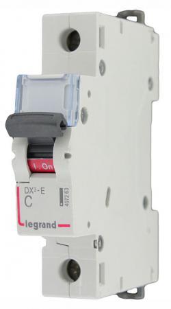 Автоматический выключатель Legrand DX3-E 6000 6кА тип C 1П 6А 407260 автоматический выключатель legrand dx3 e 6000 6ка тип c 1п 25а 407265