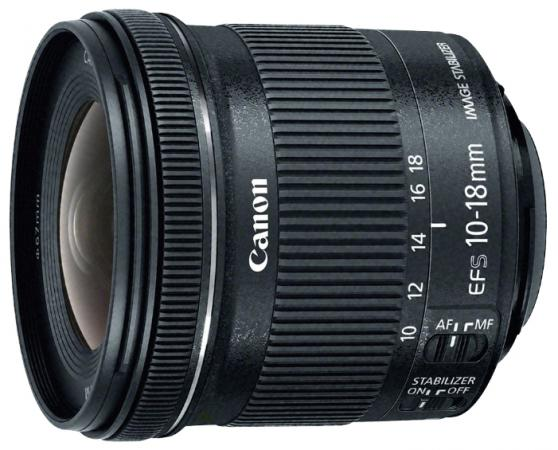 Объектив Canon EF-S 10-18мм F/4.5-5.6 9519B005 объектив canon ef 24mm f 2 8 is usm черный