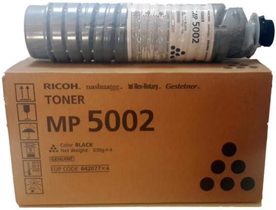 Тонер Ricoh тип MP5002 для Aficio MP3500/4500/4000/5000/4001/5001 черный 842077 камера switel hsip 5001 caip 5000 черный