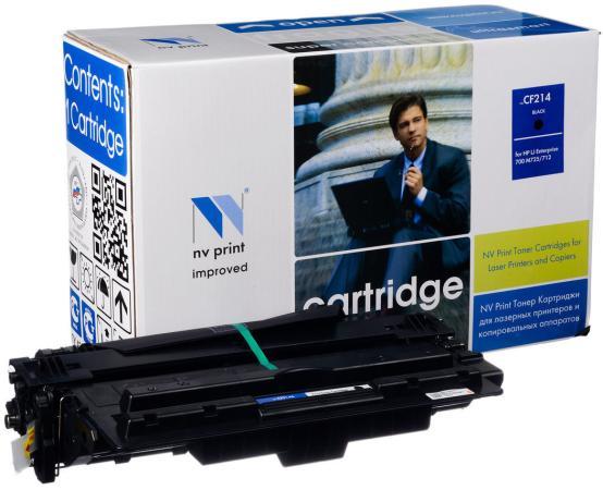 Фото - Картридж NV-Print CF214X для HP LJ M712 CF214X черный 17500стр картридж nv print ce250x черный для hp color lj cm3530 cp3525dn