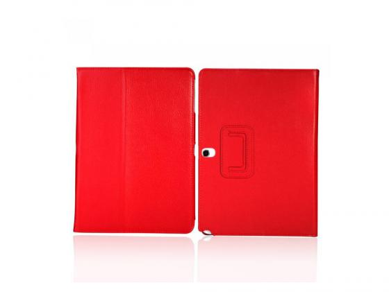 Чехол IT BAGGAGE для планшета Samsung Galaxy Tab4 10.1 искусственная кожа красный ITSSGT1042-3 чехол для планшета it baggage itssgt1035 1 для galaxy tab4 tab3 10 1 slim черный itssgt1035 1
