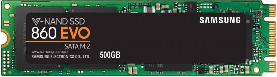Твердотельный накопитель SSD M.2 500Gb Samsung 850 EVO Read 540Mb/s Write 500Mb/s SATA III MZ-N5E500BW kingfast ssd 128gb sata iii 6gb s 2 5 inch solid state drive 7mm internal ssd 128 cache hard disk for laptop disktop
