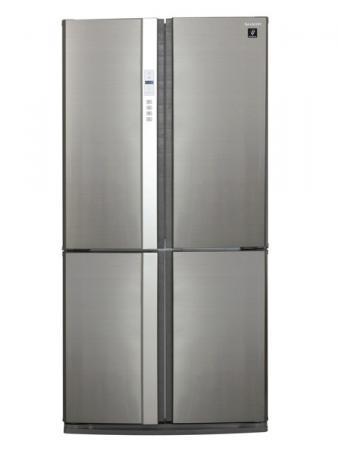 Холодильник Side by Side Sharp SJFP97VST серебристый