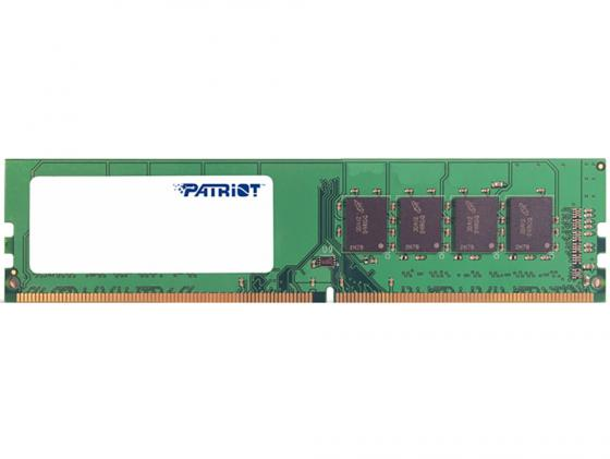 Оперативная память 4Gb PC4-17000 2133MHz DDR4 DIMM Patriot