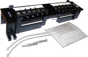 Патч-панель Lanmaster настенная горизонтальная 12 портов UTP 5E TWT-PP12UTP-H цена и фото