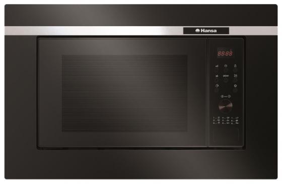Встраиваемая микроволновая печь Hansa AMG20BFH 700 Вт чёрный цена и фото