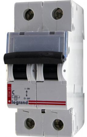 Автоматический выключатель Legrand DX3 6000 10кА тип C 2П 16А 407800 автоматический выключатель legrand dx3 6ka 10ка тип c 1п n 16а 407742