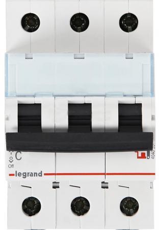 Автоматический выключатель Legrand DX3-E 6000 6кА тип C 3П 13А 407290 автоматический выключатель s201 10a c 6ка