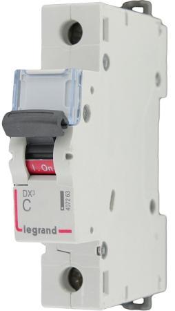 Автоматический выключатель Legrand TX3 6000 тип C 1П 50А 404033 автоматический выключатель tdm ва47 63 2р 50а sq0218 0015