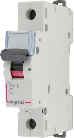 Автоматический выключатель Legrand DX3-E 6000 6кА тип C 1П 63А 407269