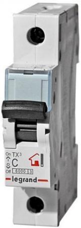 Автоматический выключатель Legrand TX3 6/10kA тип C 1П 25А 403918 автоматический выключатель legrand 1p c 25а tx3 6ка 404030