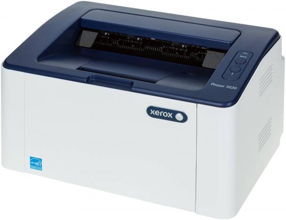 Принтер Xerox Phaser 3020V/BI ч/б A4 20ppm 1200x1200dpi Wi-Fi USB xerox workcentre 3025bi ч б а4 20ppm