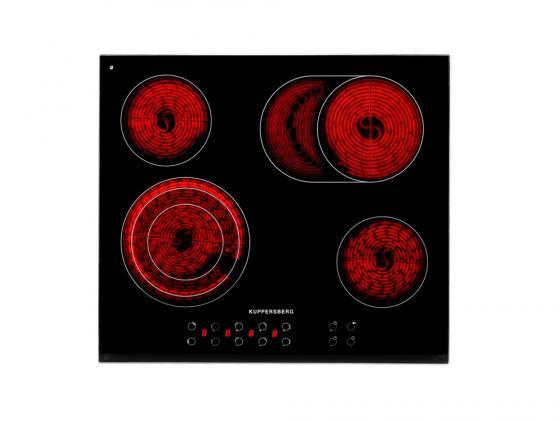 Фото Стеклокерамическая варочная панель Kuppersberg FT6VS09 независимая сенсорное управление черный