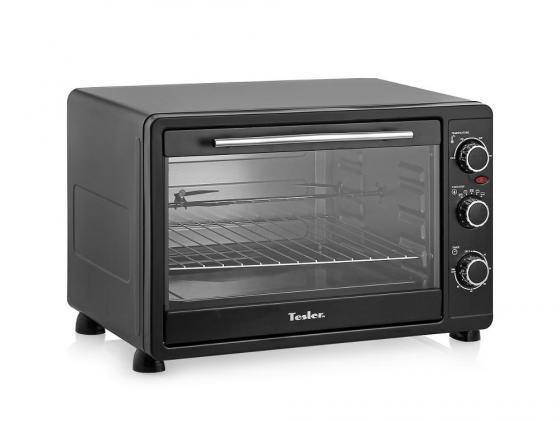Мини-печь TESLER EOG-4500 черный морозильник tesler rf 90 белый