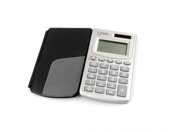 Калькулятор Canon LS-270H 8 разрядов серый калькулятор canon as 240 14 разрядов черный