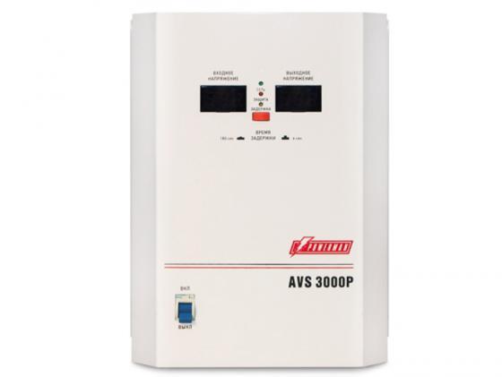все цены на Стабилизатор напряжения Powerman AVS 3000P 1 розетка белый онлайн
