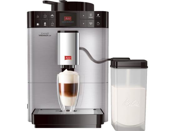 Кофемашина Melitta Caffeo Varianza CSP F 570-101 1450 Вт серебристый john jordan m information technology and innovation resources for growth in a connected world