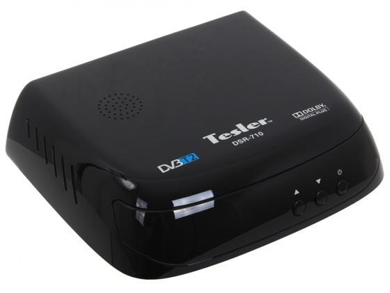 Тюнер цифровой DVB-T2 TESLER DSR-710 цена