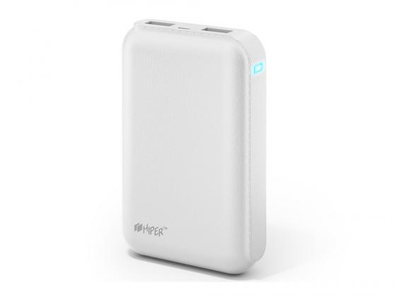 Портативное зарядное устройство HIPER Power Bank SP7500 7500мАч белый цена
