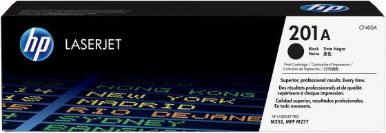 Картридж HP CF400A для LaserJet Pro M252n/M252dw черный 1500стр картридж hp cf400a для laserjet pro m252n m252dw черный 1500 страниц hp 201a