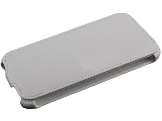Чехол LP для Samsung G900F Galaxy S5 раскладной кожа белый R0005403 цена