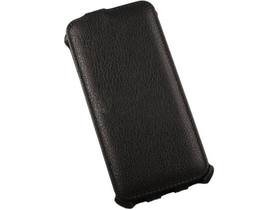 Чехол LP для Samsung Galaxy S6 раскладной кожа черный 0L-00000753