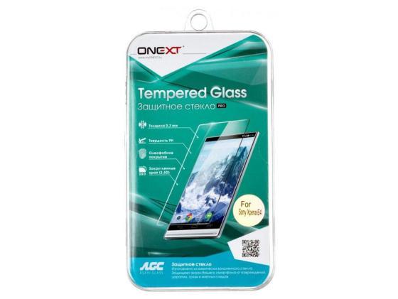 Защитное стекло ONEXT для Sony Xperia E4 40913 защитное стекло onext для sony xperia e4g 40941