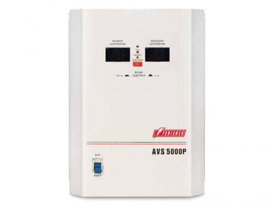 цена на Стабилизатор напряжения Powerman AVS 5000P 1 розетка белый
